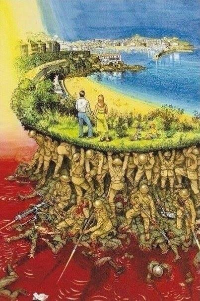 Мы до конца нашей жизни должны быть благодарны нашим ГЕРОЯМ!!! Невозможно переоценить то, чем они пожертвовали!!!