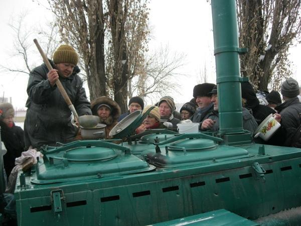 Жители Ровеньков кормили раньше всю Украину, пришло время и самим ничего не делать